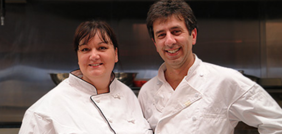 Char Brewer and Ala Nahal - Co-owners of Patisserie Du Soleil